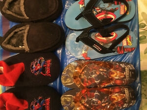 9 pair Boys size 10-11 footwear