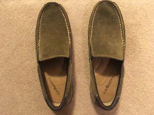 Olive Suede Slip-ons by G.H. Bass & Co - Size 9 - Brand New