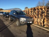 61 reg 2011 Jeep Grand Cherokee 3.0 V6 CRD