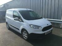 Ford Transit Courier, 1.0L EcoBoost 100PS in Frozen White + A/C - Onsite
