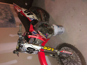 2006 Honda Crf 450r Mint shape with ownership