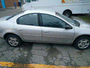 Dodge Neon, year 2000, low kms for sale