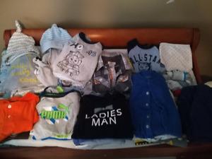 BABY BOY CLOTHING 6-12 MTH!!