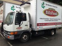 Driver for Hino 3 ton with 14 foot box and warehouse activies
