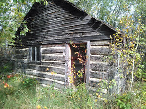 old log cabin, log building
