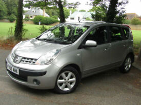 Nissan Note 1.6 16v SE**GENUINE 34,000 MILES**1 Previous Lady Owner**VGC**