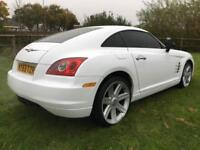 2003 53 CHRYSLER CROSSFIRE 3.2 V6 2 DOOR COUPE AUTOMATIC WRAPPED WHITE