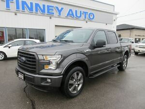 2015 Ford F-150 XLT SuperCrew 5.5-ft. Bed 4WD Peterborough Peterborough Area image 8