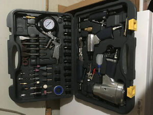 100 piece mastercraft air tool set