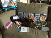 Wii U Deluxe Bundle (Controllers + Games) NEEDS SOLD TODAY