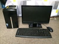 Packard Bell imedia Desktop PC with monitor