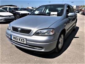 Vauxhall/Opel Astra 1.6i 16v auto 2002MY Comfort