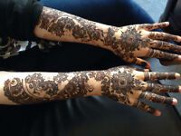 Professional Henna Artist for Brides and Weddings