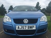 VW POLO 2007 1,4 BLUE AUTOMATIC!! FULL SERVICE HISTORY.