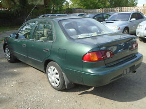 1999 Toyota Corolla Sedan Cambridge Kitchener Area image 2