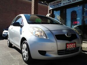 2007 Toyota Yaris MANUAL,2DR,POWER STEERING,NO ACCIDENT.$1488