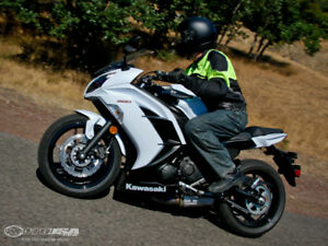 Reduced. Even .More.: Black N White 650 Ninja For Sale