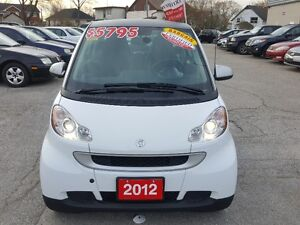 2012 Smart Fortwo Passion Hatchback, Loaded with Warranty