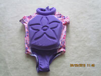 BABY GIRLS FLOTATION SWIMSUIT