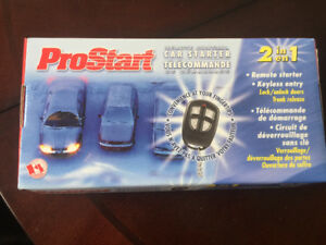 Prostart Remote Control Car Starter and Keyless Entry 2 in 1