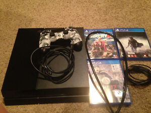 PS4 Console bundle *Perfect Condition*