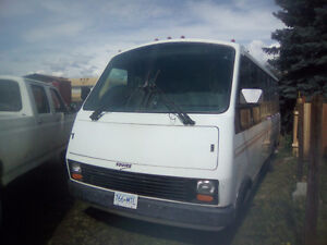 Bus for sale as motor home