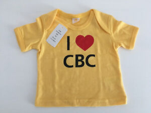 *CBC*  Infant T-shirt (size : 12 months)  *New*  (Never Used)