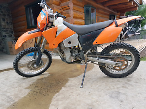 Ktm 450 exc 2004 and a dodge 3500 for 7000