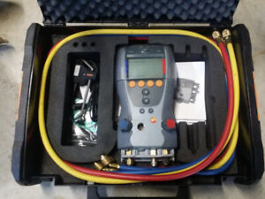 Testo 523 refrigeration system analyzer