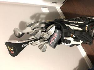 Bag of full golf set - Taylormade/Callaway/Ping clubs