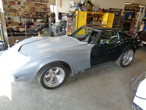 1976 Corvette Drag / Street Roller Project