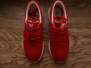 Supra Hammer Run Cardinal-Off White (Red Shoes)