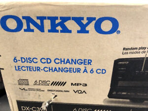 Onkyo DX-C390 CD Changer 6 Disc CD Player DXC390 CD & MP3 Player