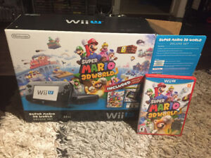 Wii u 32 gb edition Mario 3D world