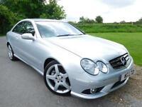 2009 Mercedes Benz CLK 320 CDi Sport 2dr Tip Auto COMMAND! Full Merc SH! 2 d...