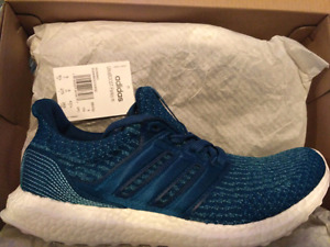 (NO TRADES) Adidas Ultraboost 3.0 Parley size 9.5 Ds