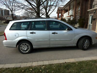2005 Ford Focus ZXW SES Wagon-Good Shape-manual transmission
