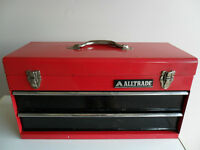 Alltrade Metal Toolbox with 2 Drawers