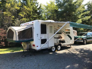 Beautiful Hybrid Travel Trailer for Sale