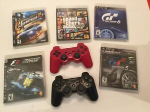 PS3: Gran Turismo GT 6, GTA V , F1, Juiced 2, Manette ...
