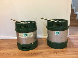 2 Pony kegs for sale