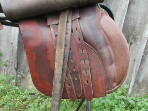 "Frank Baines, 17 "" English Eventers / All Purpose Saddle London Ontario image 3"