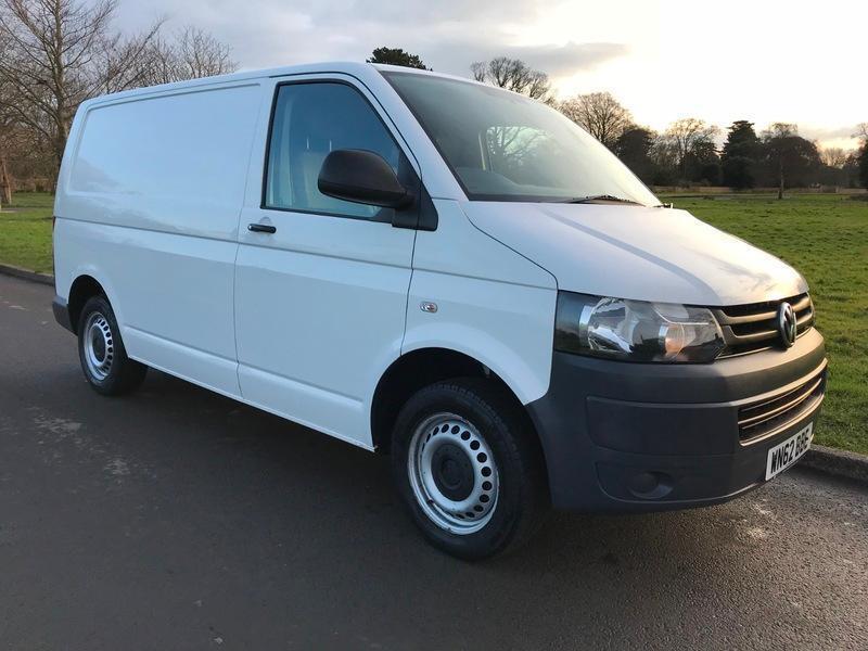 Volkswagen T5 Transporter T30 TDI P V White Van With Tailgate