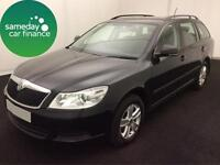 ONLY £164.35 PER MONTH BLACK 2012 SKODA OCTAVIA 1.6 CR SE ESTATE DIESEL MANUAL