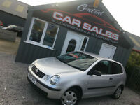 VOLKSWAGEN POLO 1.2 ( 55bhp ) E 3DR PX TO CLEAR PART EXCHANGE WELCOME