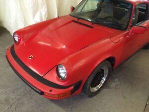 Cherche Porsche coupe targa 911 912 356 1954-1998