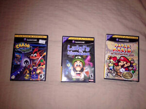 3 Jeux Game Cube !!! 3 Game Cube Games !!!