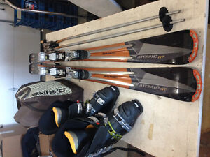 Pro Skis, Boots, Poles, Helmet - moving to hot climate.