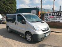 Vauxhall Vivaro SILVER AUTOMATIC/MANUAL DIESEL VAN WHEELCHAIR ACCESS