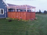 Custom Decks, Fences Outdoor-Projects